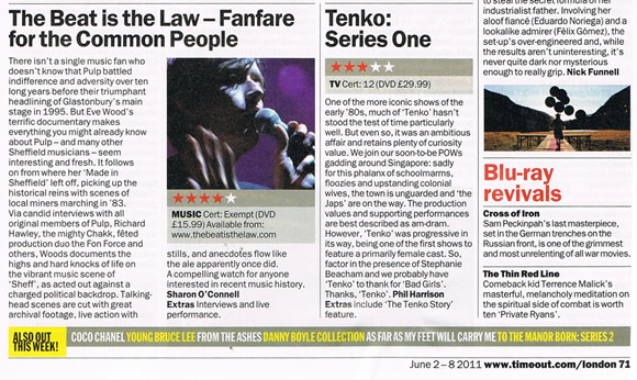 Time Out London review