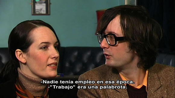 Jarvis and Saskia Cocker in Spanish - The Beat Is The Law